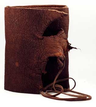 Buffalo Hunter Leather Blank Book