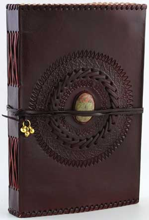 God`s Eye Leather Blank Book