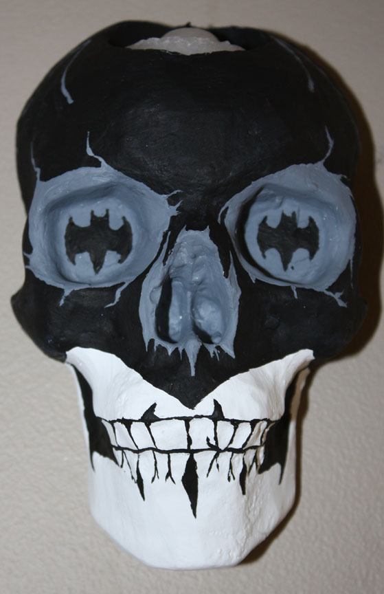 Batman Skull Sconce