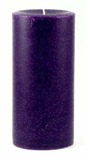 "Reiki Charged Healing Pillar Candle 3"" by 6"""