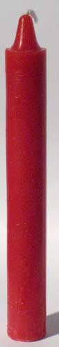 Red 6 Taper Candles