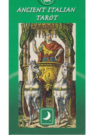 Ancient Italian tarot deck
