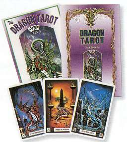 The Dragon Tarot  (deck and book)  by Donaldson/ Pracownik