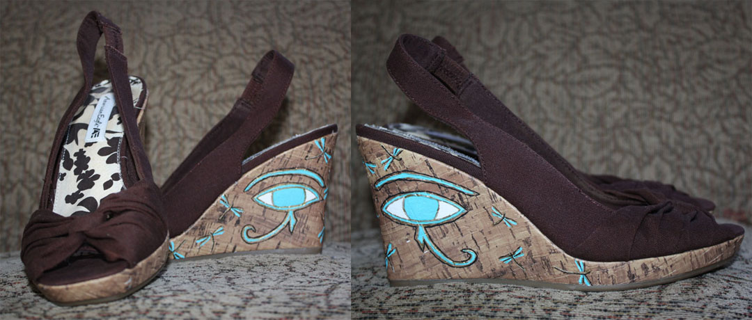 Eye of Ra wedges