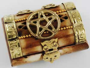 Mini Pentagram Bone Chest