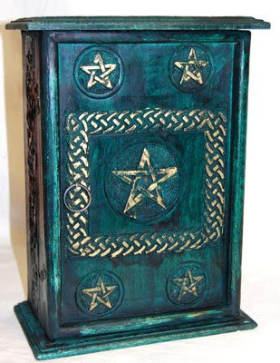 Green Pentagram Cupboard