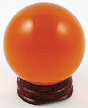 Amber Crystal Ball 50mm