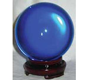Blue Crystal Ball 50mm