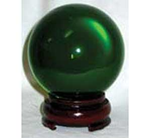 Green Crystal Ball 50mm