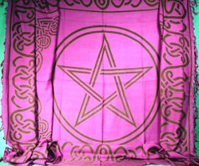 Large Celtic Pentacle Sarong