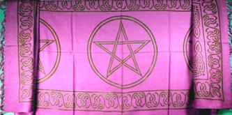 Small Celtic Pentacles Sarong