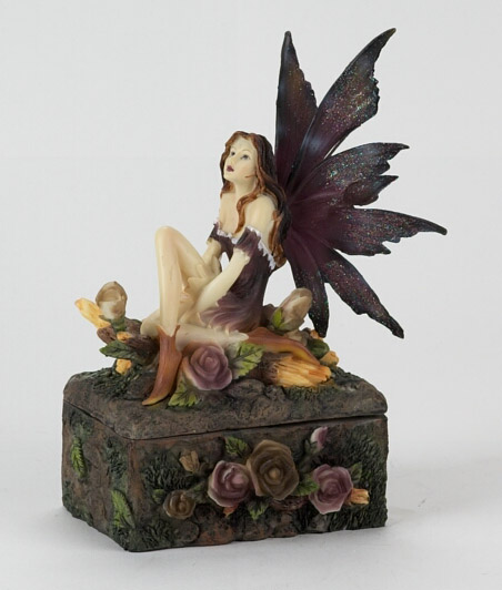 Fairy with Roses Treasure Box