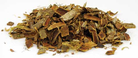 1 Lb Cascara Sagrada Bark cut