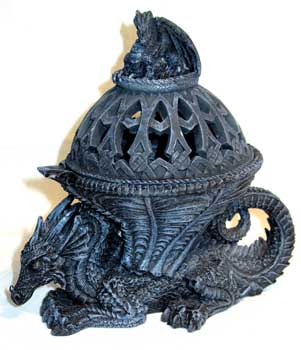 Western Dragon Incense Holder
