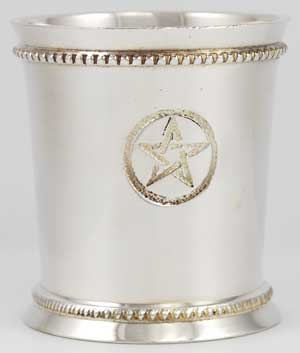 Pentagram Chalice and Votive Holder