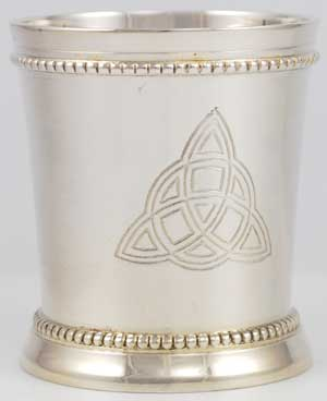 Triquetra Chalice and Votive Holder