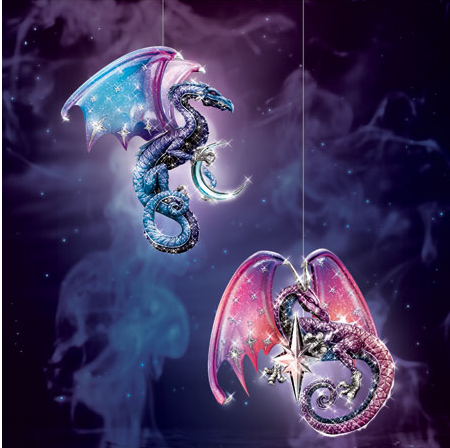 Celestial Dragon Ornament Set #1