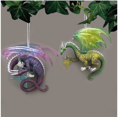 Celestial Dragon Ornament Set #3